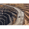 Trucks haul gold ore at Evolution Mining's Cowal gold mine in New South Wales.