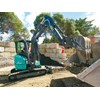 The IHI 35V4 mini excavator may be little but it has a considerable list of features. Pictures by Dave Lorimar