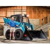 Toyota Huski 5SDK11 skid-steer loader.