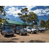Group shot of multiple Toyota Landcruiser 70 series