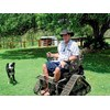 Rick Seeds and his all-terrain Action TrackStander Wheelchair
