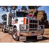 The Kenworth W model front on