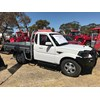 Mahindra Pik Up ute at Wimmera Field Days