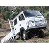 The Fuso Canter 4x4 is a surprisingly capable off-roader.
