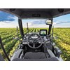 The view from the cabin of the Croplands Mako 450 self-propelled sprayer.