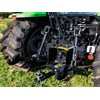 The Deutz Fahr 51054GS was the only tractor in the shootout to have four-speed PTO as standard.