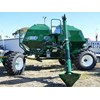 The Gyral STR air seeder has an interchangeable front axle making it easy change wheel centres.
