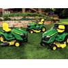 John Deere Select and Signature series ride on mowers WEB