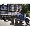 The Massey Ferguson 70th anniversary parade drew the attention of onlookers.