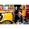 Peter Murphy of Wagga Wagga relaxes after his 1923 T Model Ford travelled the old Hume from Sydney to Yass.