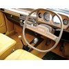 Austin Allegro Interior with Quartic steering wheel