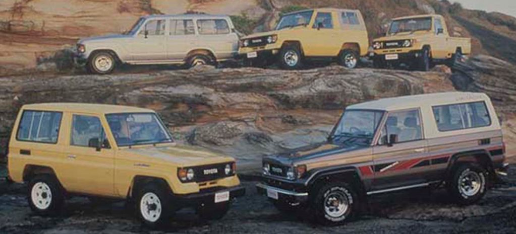 Celebrating 30 years of Land Cruiser 70 Series