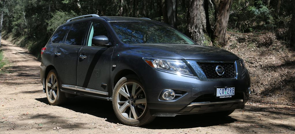 2014 Nissan Pathfinder Hybrid Ti review