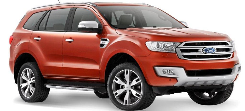 2015 Ford Everest Peaks in China