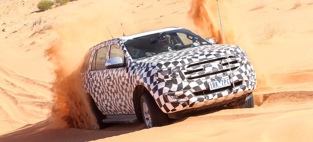 Video Ford Everest Model Release