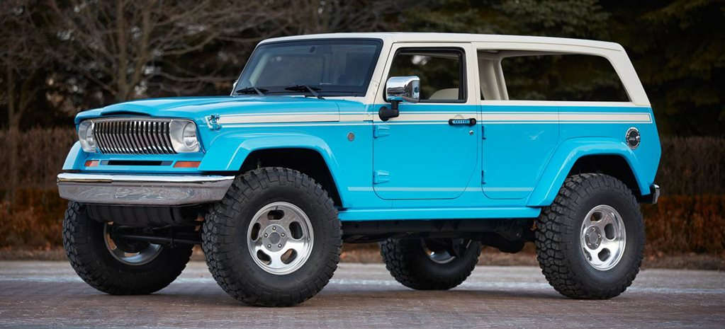Jeep's hot new concept vehicles break cover