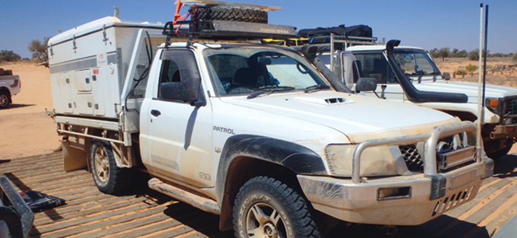 What causes a ute chassis to bend?