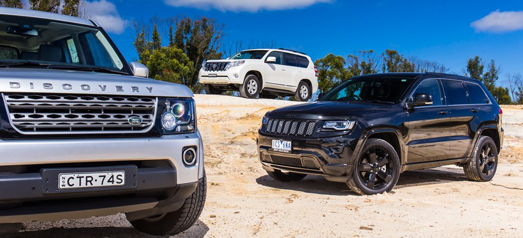 Diesel warfare: Jeep vs Land Rover vs Toyota