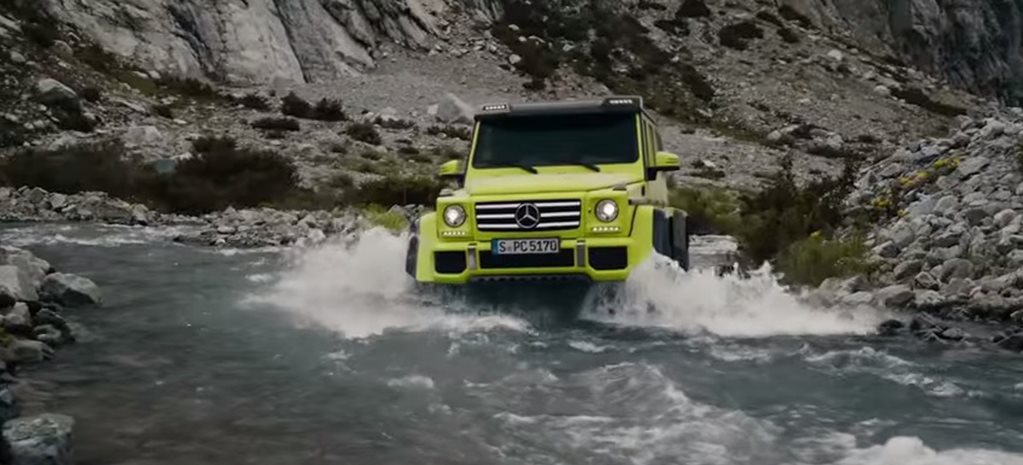Mercedes-Benz G 500 4x4² show car