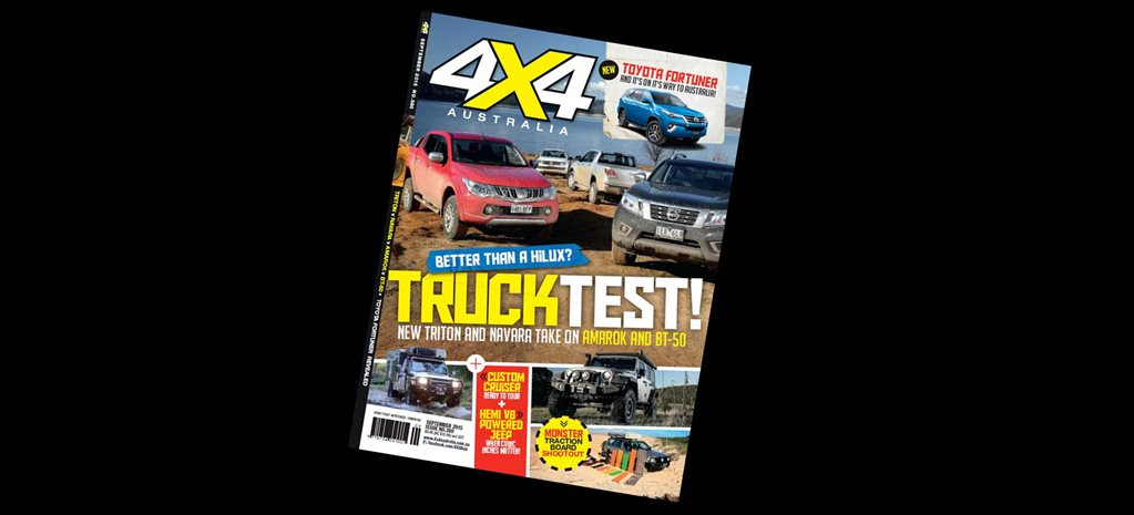 4X4 Australia September edition on sale now