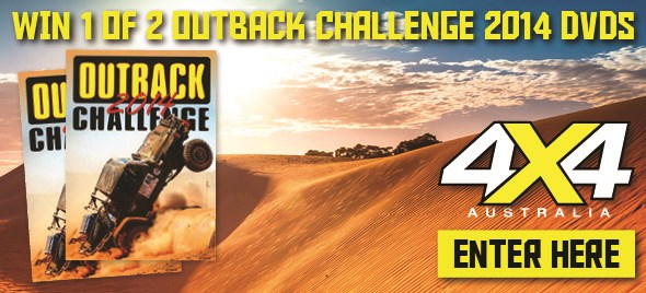 Win 1 of 2 copies of the Outback Challenge 2014 DVD