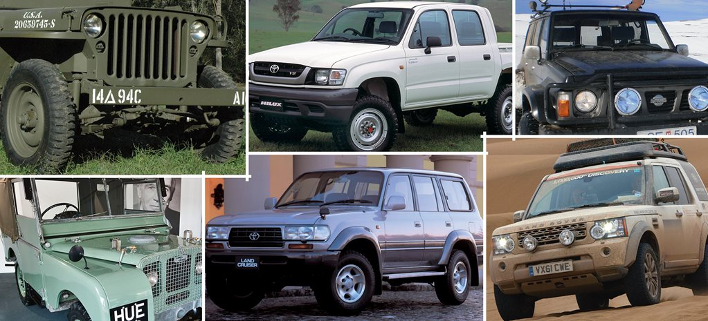 Best Off Road Vehicle Of All Time >> The 10 Greatest 4x4s Of All Time