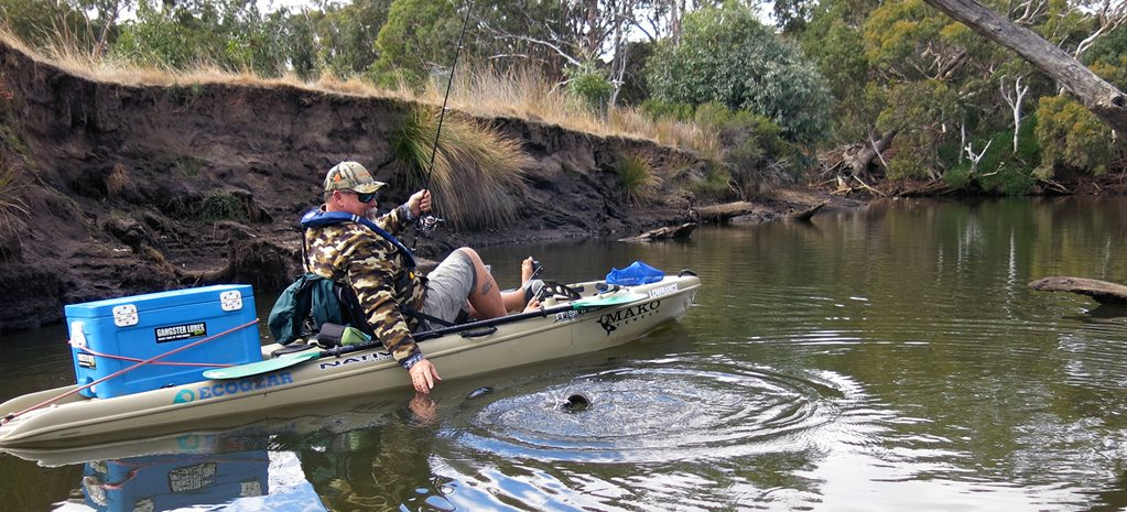 Tight Lines: Kayak Fishing