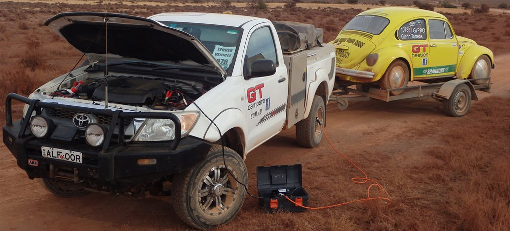 Toyota Hilux steering-pump squawk