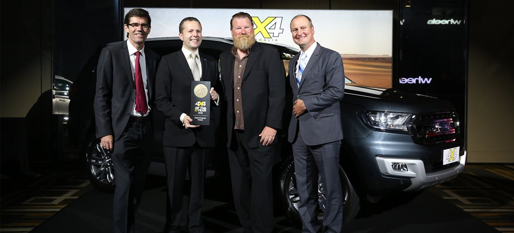 2016 Australian Motoring Awards: 4x4 of the Year winner