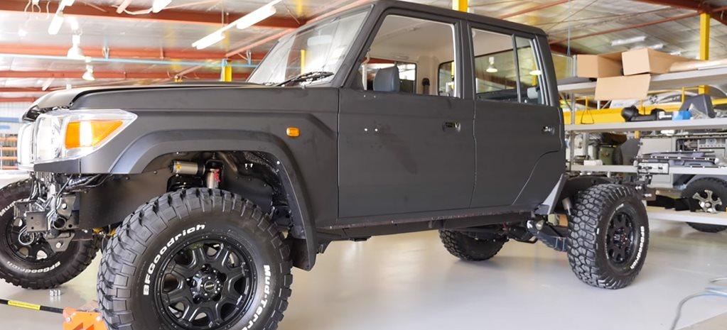 Land Cruiser 79 Series build: Part 1