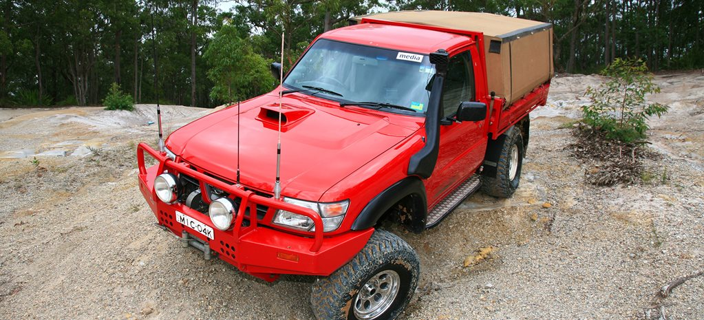 Custom 4x4: Nissan GU Patrol with Toyota engine