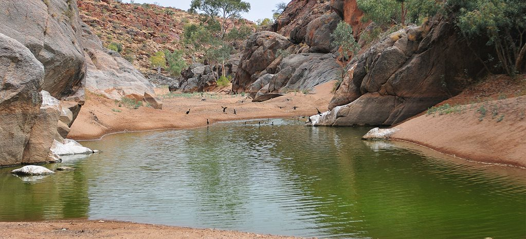 Footloose: Outback waterholes