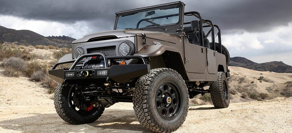 Custom 4x4: ICON FJ44 Land Cruiser