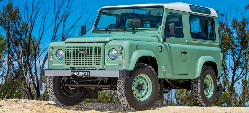 Thieves target Land Rover Defender