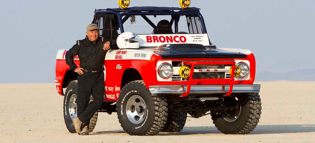 Rod Hall to race the 1000-Mile Baja for the 50th time