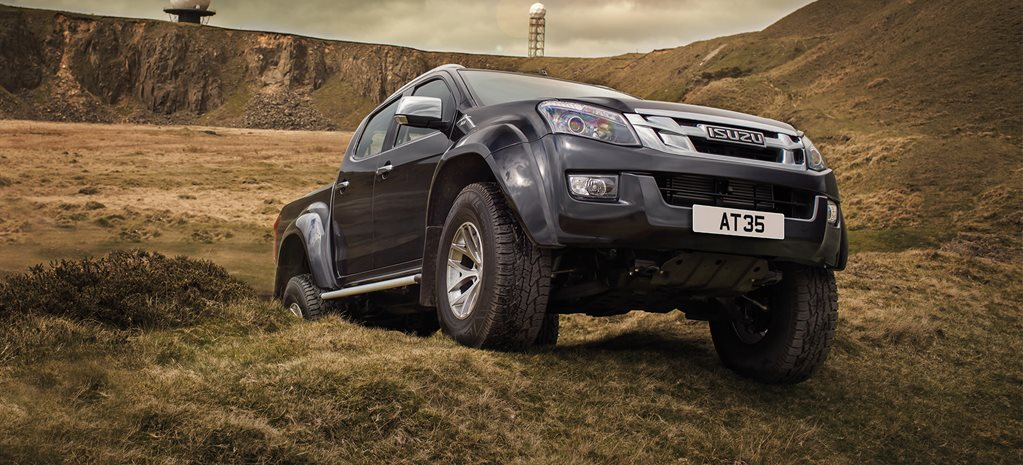 Isuzu D-Max factory-backed on 35s