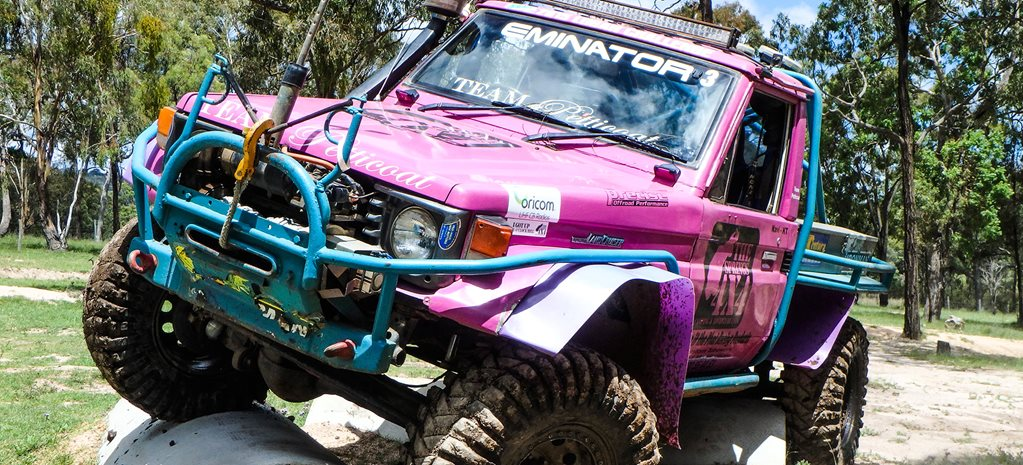The ladies who drive competition Toyota 4x4s