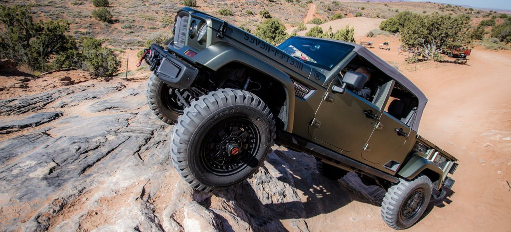 Jeep Crew Chief 715 Concept review