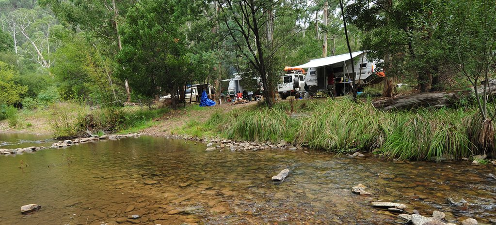Avoid camping during the school holidays