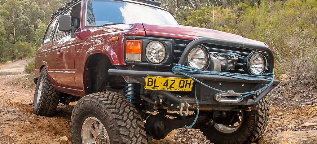 Land Cruiser LC60: 4x4 Shed
