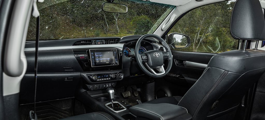 Toyota Hilux interior makes the Canning Stock Route a breeze