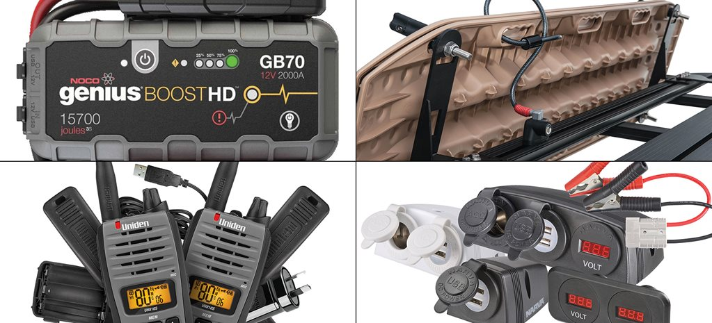 Latest electronics and gadgets for your 4x4