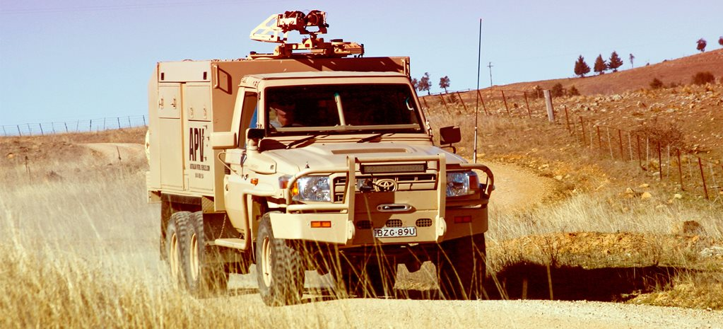 Western forces muscle up with LandCruisers