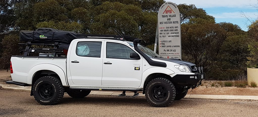 Giveaway Toyota Hilux is up for sale