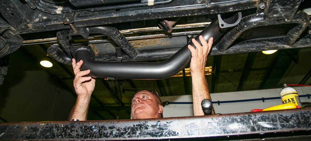 Taipan exhaust system: Product test