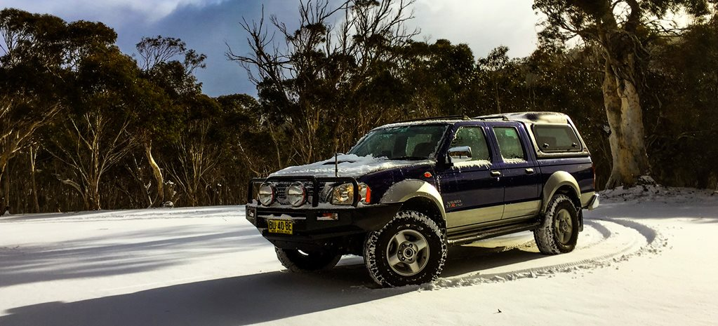 Nissan Navara tackles the snow-capped Alpine regions