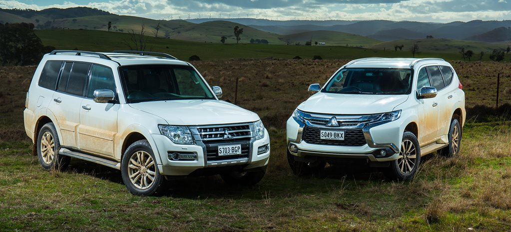 Mitsubishi Pajero vs Pajero Sport video review