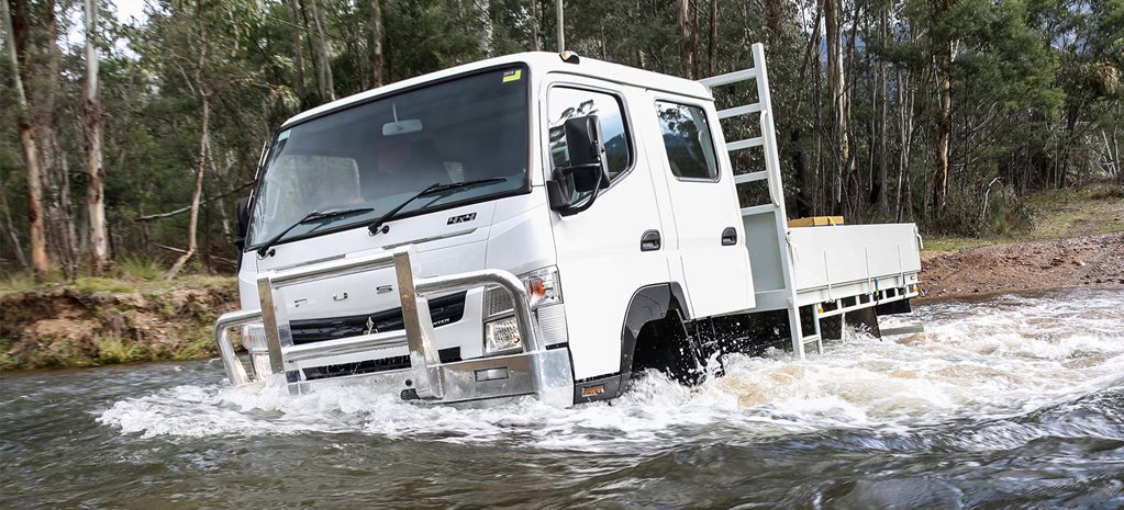 Fuso Canter 4X4 review
