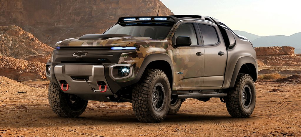 GM and US Military develop ZH2 Colorado Concept