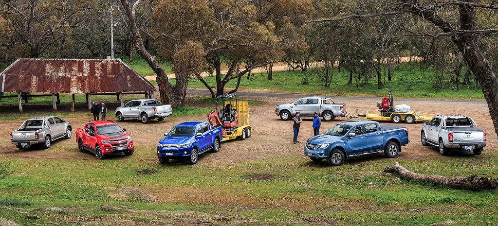 Dual-cab ute load and tow comparison test